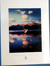 "FIGURE SKATING  SLC 2002 Olympic Poster  Sports Series, 13"" X 18"", USA, Adult"