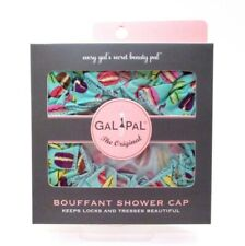 SPA SISTER ~ BOUFFANT SHOWER CAP - French Macarons ~ One Size ~ New