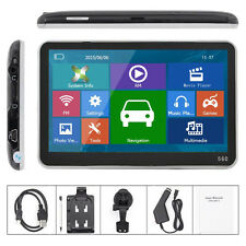 "5"" 8Gb Hd Screen Car Gps Navigation Navigator Sat Nav Free Us Maps Updates Oy"