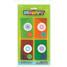 Unique Party Favors Circle Designers 4 Pack