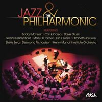 JAZZ & THE PHILHARMONIC CD + DVD NEW - BOBBY MCFERRIN, CHICK COREA, DAVE GRUSIN