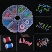 Portable Crochet Hooks Set Knitting Needle Yarn Organiser Case Kit Craft Tool