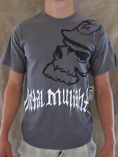 METAL MULISHA AGES X405S18422 Charcoal Grey 100% Cotton T Shirt Size MEDIUM NWT