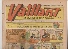 VAILLANT n° 99 - avril 1947 - BE