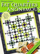 CLEARANCE - Fat Quarter Anonymous - Fabulous book for quick & easy quilts
