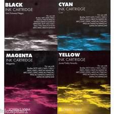 4x LC1100 Cartuchos De Inyección Tinta No OEM Alternativa Para MFC-5895CW,