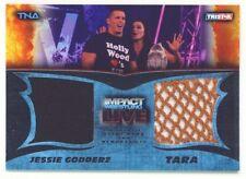 """TARA & JESSIE GODDERZ """"DUAL MEMORABILIA #029/199"""" TNA IMPACT LIVE 2013"""