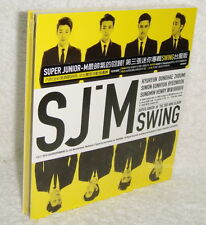 Korea Super Junior-M Mini Album Vol.3 Swing 2014 Taiwan CD (digipak)