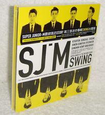 Korea Super Junior-M Mini Album Vol.3 Swing 2014 Taiwan CD (digipak)
