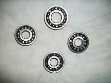 TRIUMPH TINA 100cc ENGINE BEARING KIT x4 BEARINGS