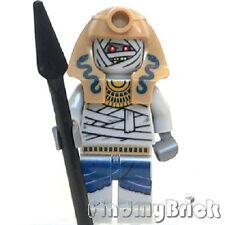 C905T Lego Pharaoh's Quest Mummy Warrior Minifigure with Pike 7325 NEW