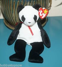 Fortune the Panda Bear Ty Beanie Baby Beautiful Condition Hs1