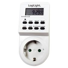 Digitale Zeitschaltuhr Steckdose Wochenzeitschaltuhr 7 Tage Timer Display 3600W