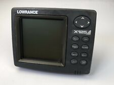 Lowrance X125 fishfinder sonar ((head & cover ,No other Accessories)