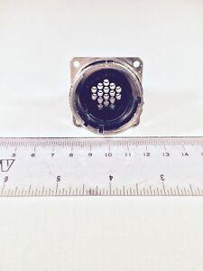 AMP 208489-1 CPC Series 1 TE Metal Panel Mount Size 22 16 PIN