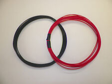 20 TXL HIGH TEMP AUTOMOTIVE POWER WIRE 2 SOLID COLORS 25 FEET EACH 50 FEET TOTAL