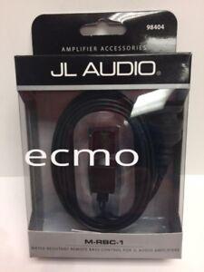 JL AUDIO M-RBC-1 WATER-RESISTANT BASS REMOTE FOR SELECT M, MHX & SLASH NEW