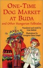 One-Time Dog Market at Buda and Other Hungarian Folktales-ExLibrary