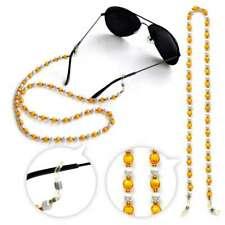 Acrylic Beaded Eyeglass Cord Reading Glasses Eyewear Spectacles Chain Holder