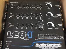 AudioControl LCQ-1 6 Channel Output Converter Sound Processor Equalizer