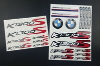 BMW k1300S motorrad motorcycle decal set 22 premium stickers K1300 S Laminated