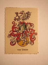 von Untzer - Wappen - Adel / Marke