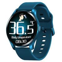 T88 Smart Watch Body Temperature Blood Pressure Oxygen Monitor Bracelet Sports