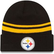 New Era Pittsburgh Steelers Authentic Cuffed Knit Hat
