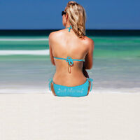 Diamon-T Just Married Bikini - Beach Wedding Honeymoon Bridal Hen Party Gift New