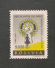 Bolivia #C226 Vf Mnh 1960 - 5000b Rotary International & Children Hosp Scv $6.00