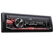JVC KD-X230 singolo DIN FM AM USB iOS Android Auto Stereo iPod iPhone-REFURB