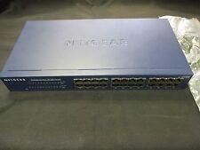 Netgear JFS524 Used ProSafe Port 10/100 Switch with Power Supply