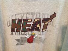 Nwt Miami Heat T-Shirt Zipway Official Nba Licensed Apparel Sz Xlt Gray/Camo