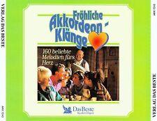 FRÖHLICHE AKKORDEON-KLÄNGE / 3 CD-SET - TOP-ZUSTAND