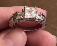Sparkling Ring Size 9 Fake Diamond Sparkler