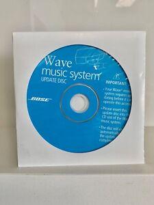 one New Bose Wave Multi Cd Changer Update Disc - ORIGINAL