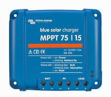 Contrôleur de charge solaire Victron Energy BlueSolar MPPT 75/15.