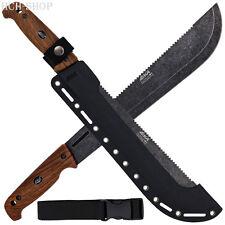 Eka machette machblade w1 avec sägezahnung g10-poignée en finition bois kydexscheide Clip