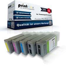 5x Repuesto Cartuchos de tinta para Canon imageprograf-lp-24 Canon pfi-102