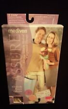NEW Mediven Assure~Closed Toe~Compression Pantyhose~ 30-40 mmHg~Beige ~ Small