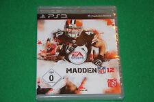 Madden NFL 12 PS3 Playstation 3 NEU in Folie eingeschweißt
