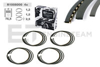4x Kolbenringsatz R1008000 SKODA VW SEAT 1,4 1,6i 032107301H 032107311C