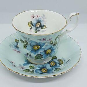 PRETTY ROYAL ALBERT TEA CUP AND SAUCER