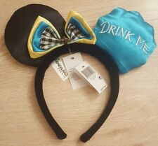 Serre-tête / Headband ALICE Bleu / Blue / Jaune / Yellow Disneyland Paris