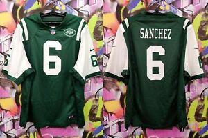 New York Jets Mark Sanchez #6 NFL Football Jersey Training Top Nike Mens XXL