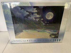 Rose Art Al Houge Limited Edition Kauai, Hawaii Moonlit Beach 1000 Puzzle Selaed