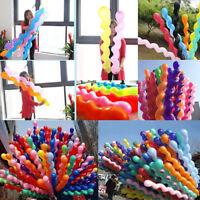 10 Spirale Ballons Décoration De Mariage Fête Enfants Décoration D'anniversaire