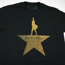 HAMILTON BROADWAY MUSICAL THEATER PLAY PRODUCTION TEE T SHIRT Sz Mens M