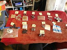 Corvette NOS NORS Some Used Baker's Dozen Parts Lot - 13 Items Many Multiples #3