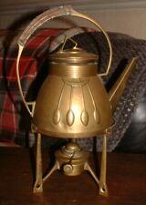 More details for antique carl deffner of esslingen arts & crafts jugendstil spirit kettle & stand